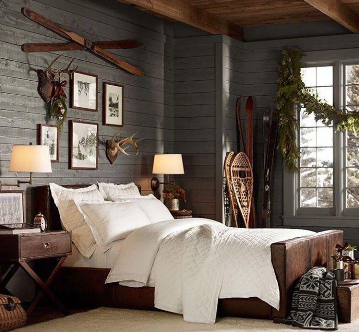 Cozy Rustic House Rustic Winter Decor Home Decor