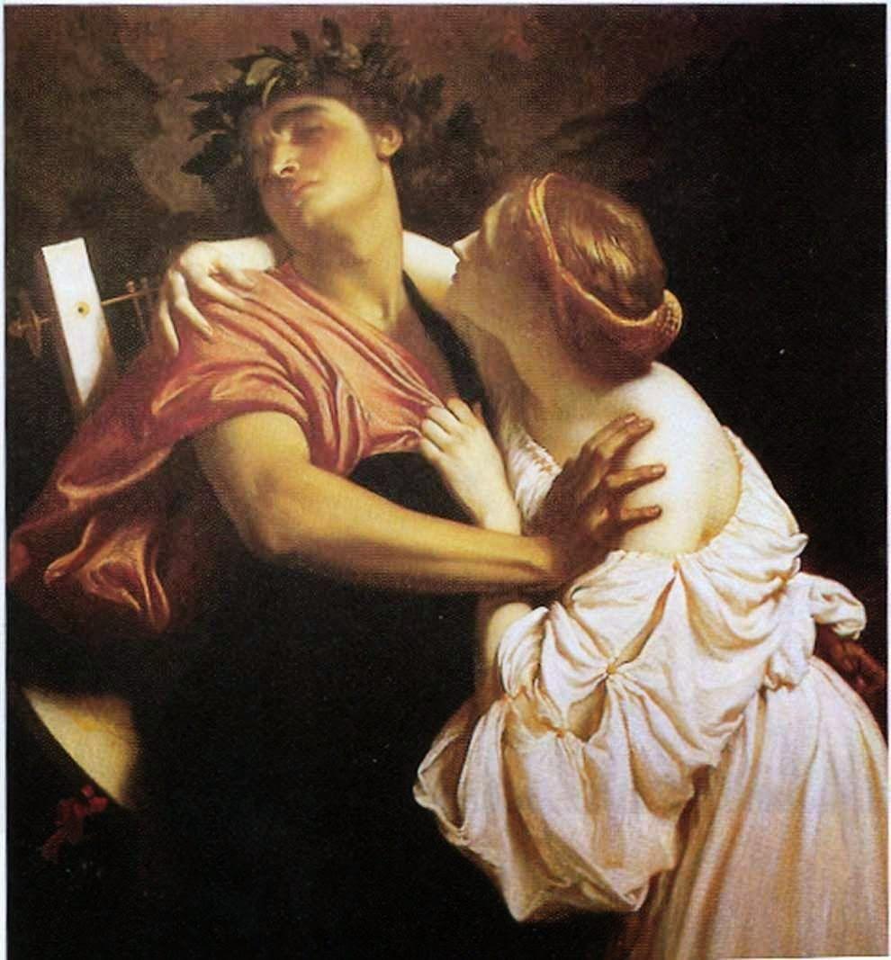 Orphée et Eurydice LEIGHTON