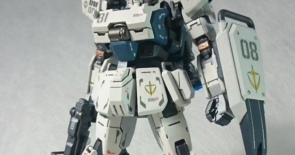 RG + HG 1/144 Gundam Ez-8 - Custom Build     Modeled by ms08