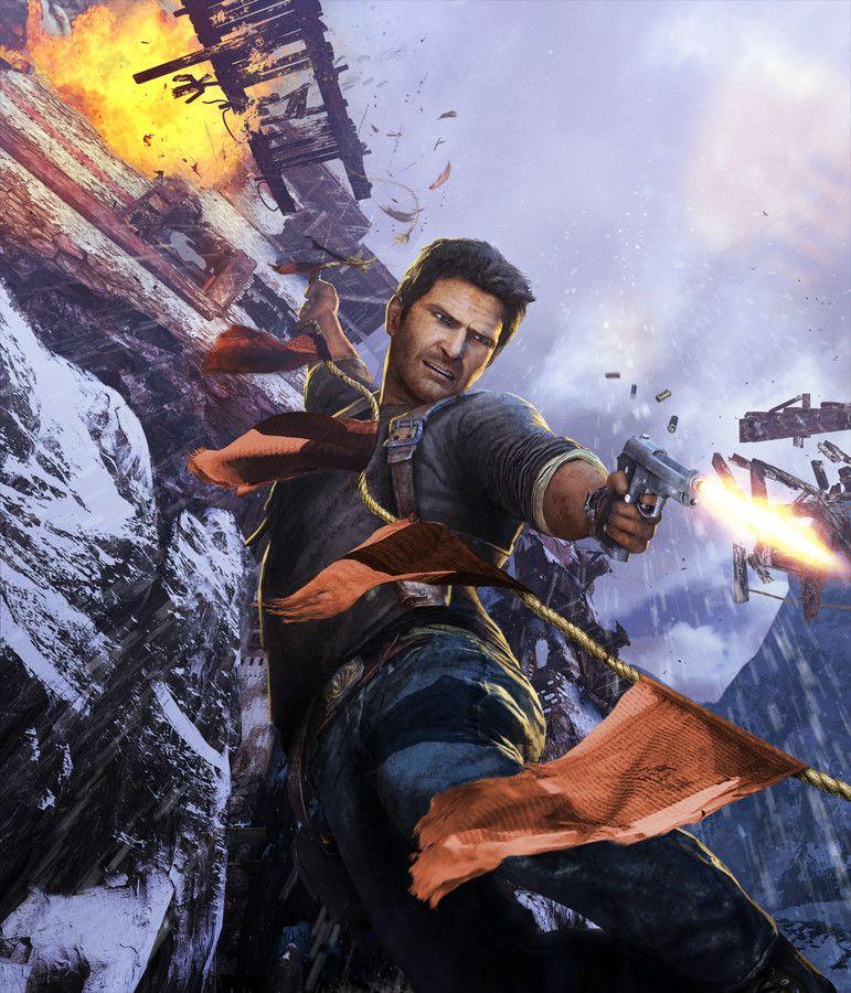 Uncharted 2 Among Thieves Artwork Cover Art Clean Imagem De Jogos Imagens Perfeitas Games Jogos