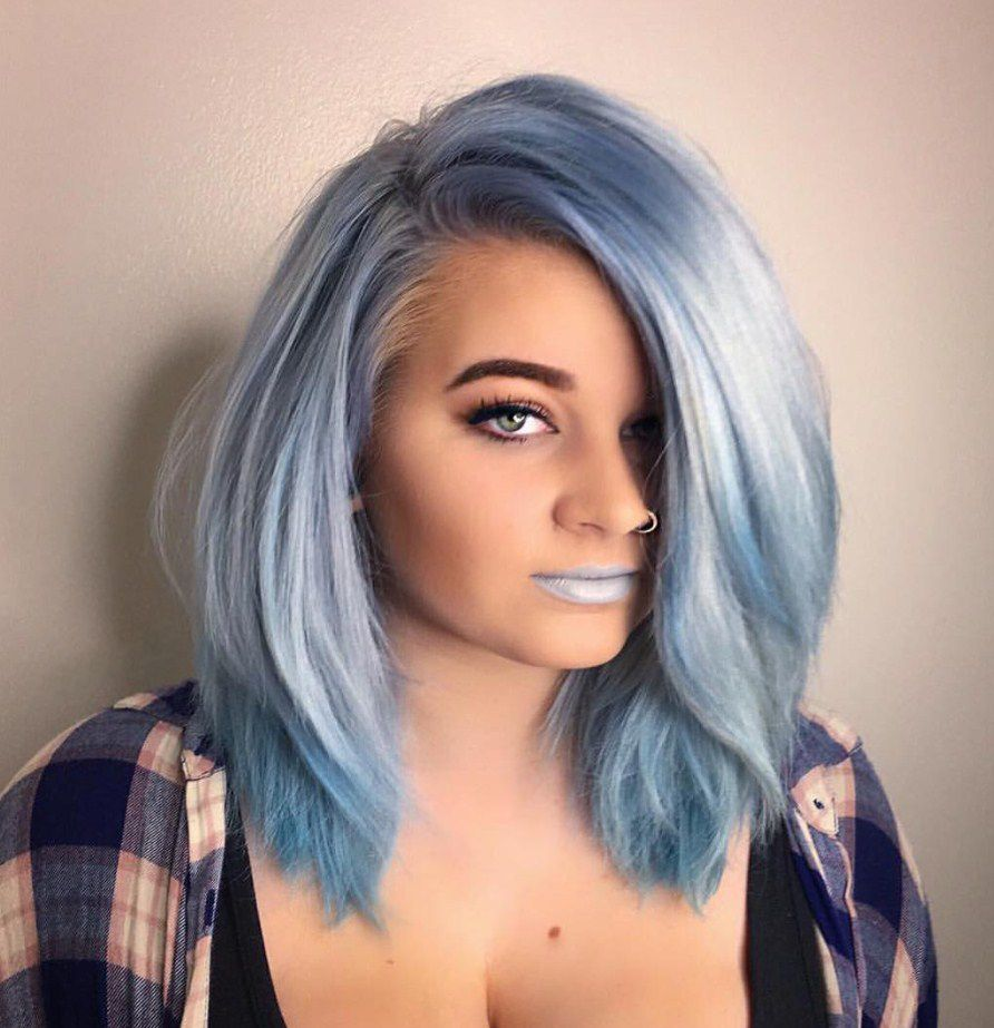 25 Thrilling Pastel Blue Hair Color Ideas — Get Ready for Winter!