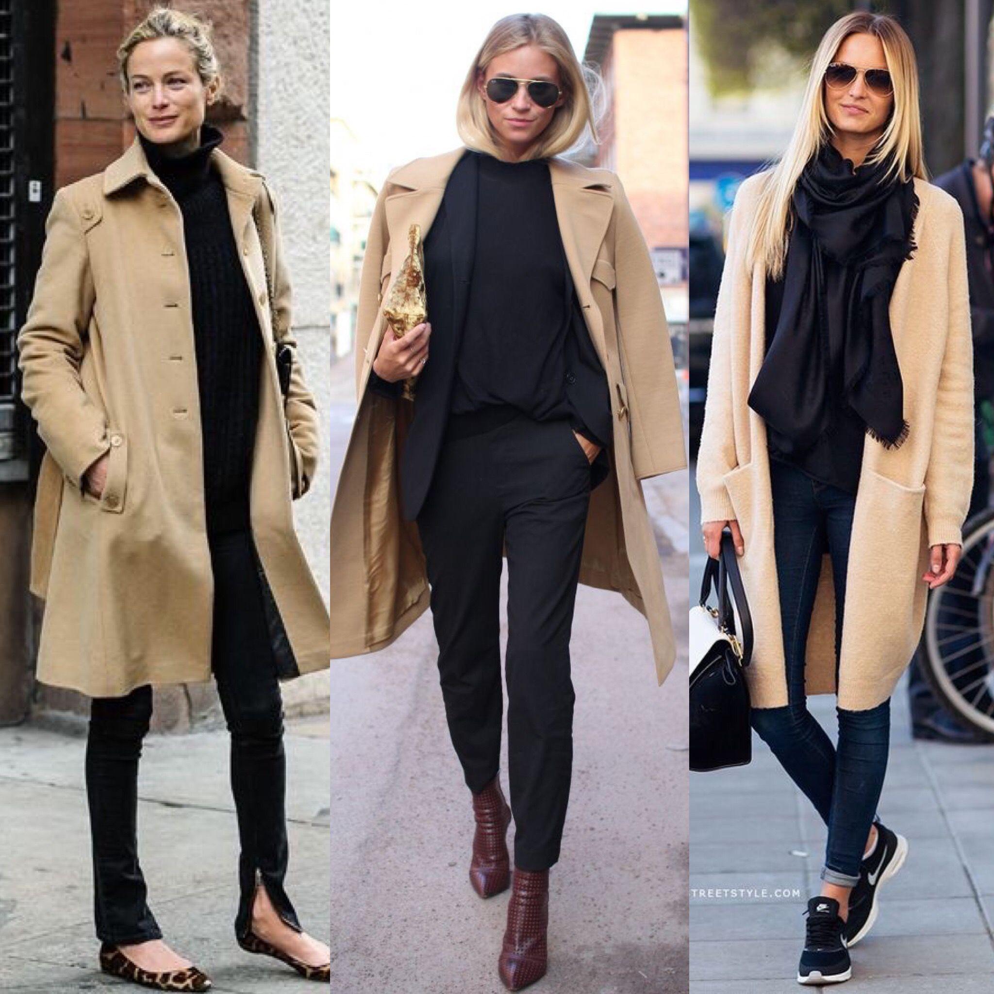 Come abbinare il cappotto cammello, i look più fashion