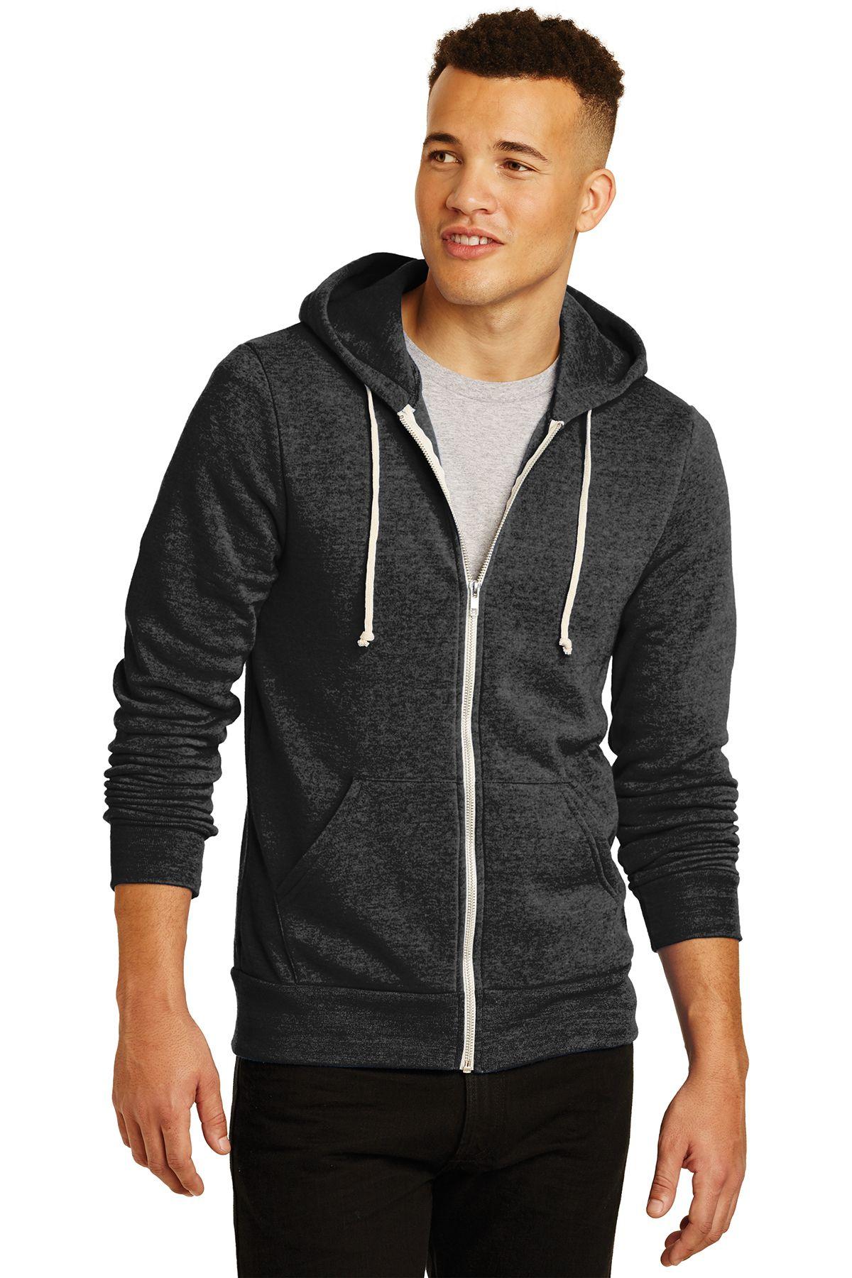 Aa9590 alternative rocky ecofleece zip hoodie 3890