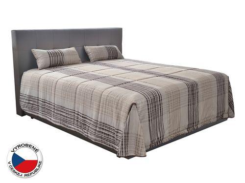 Manželská posteľ 180 cm - Blanár - Samba (s matracmi)