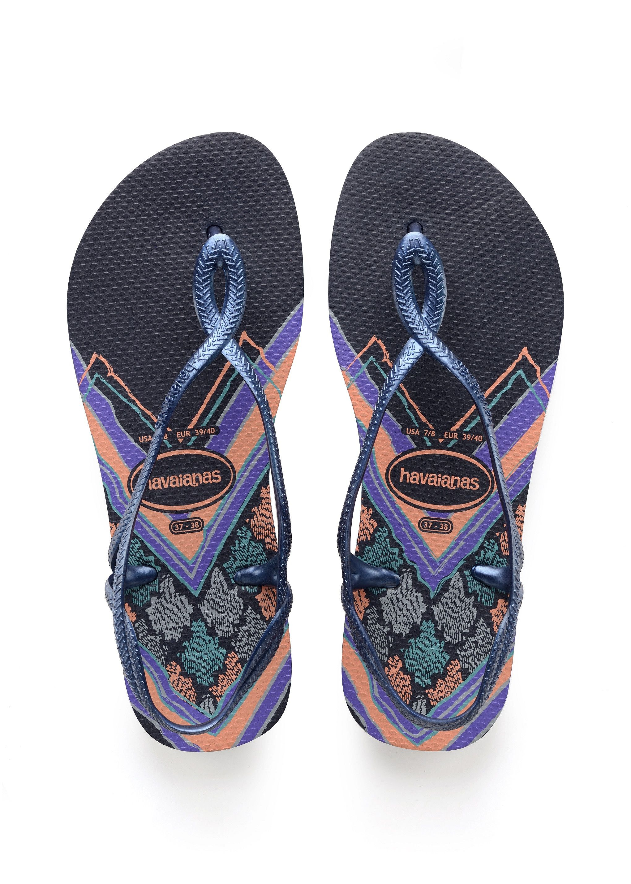 1c05654c915 Havaianas Luna Print Sandal Navy Blue Price From  40