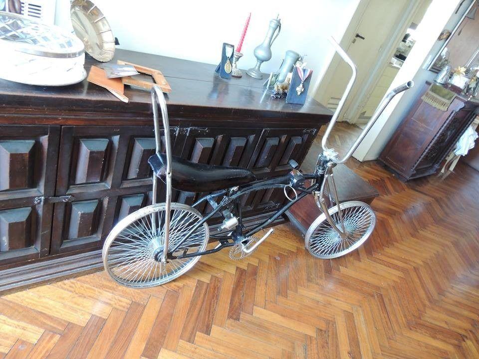 bicicleta chopper low ride