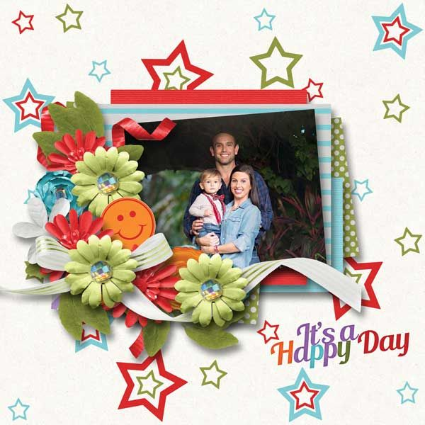 Happy Day by Love It Scrap It Designs - Digishoptalk - The Hub of the Digital Scrapbooking Community