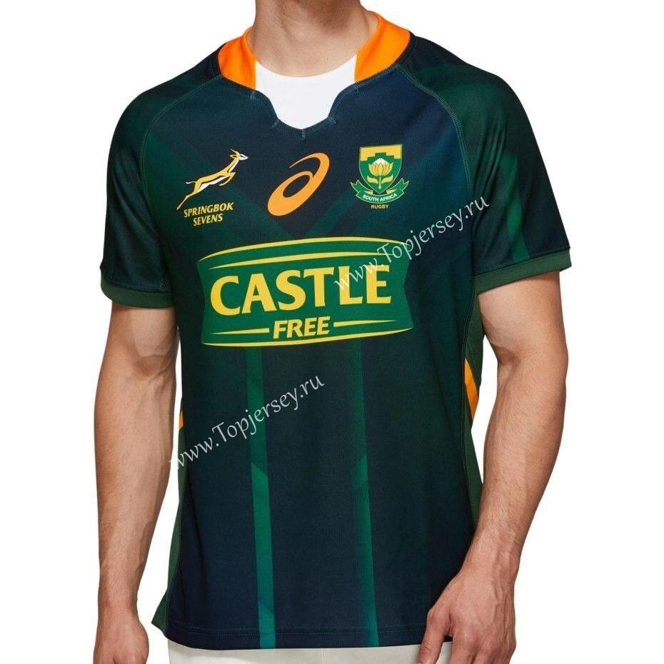 2020 South Africa Sevens Home Green Thailand Rugby Jersey Rugby Jersey Rugby Jersey