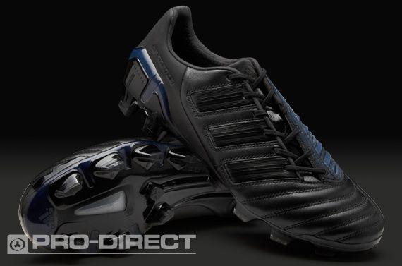 pretty nice 1adee fcdba adidas Football Boots - adidas adipower Predator TRX FG Black Out - Firm  Ground - Soccer Cleats - Black