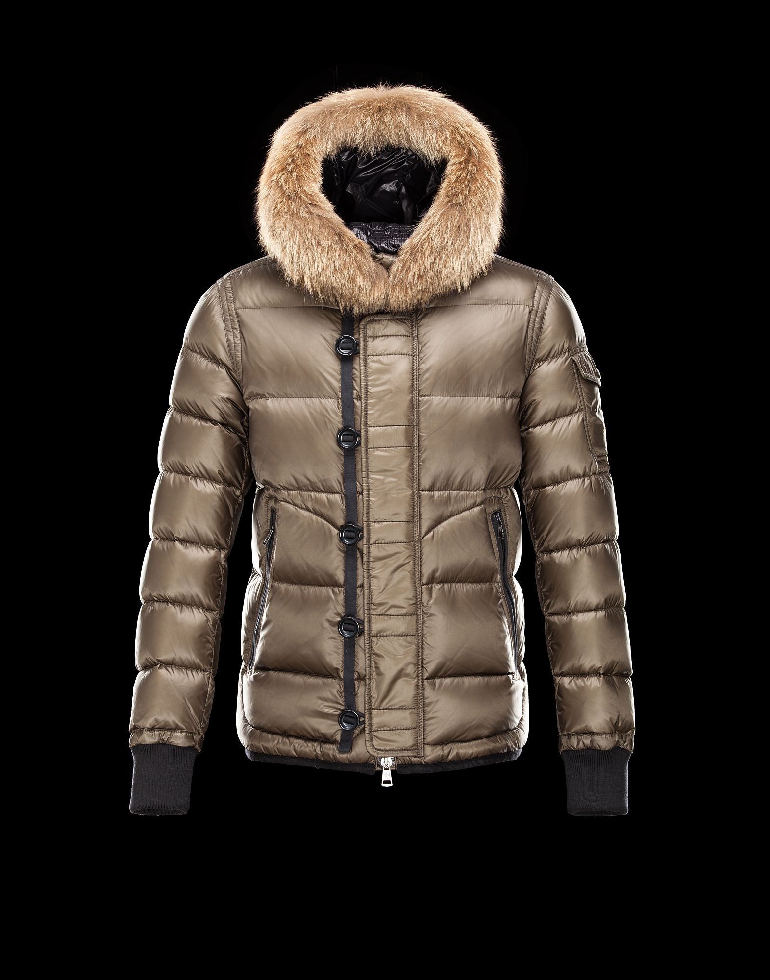 Moncler Quilted Puffer Jacket Online the New Moncler