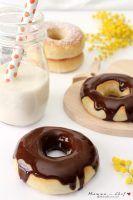 Donuts al forno senza burro e uova