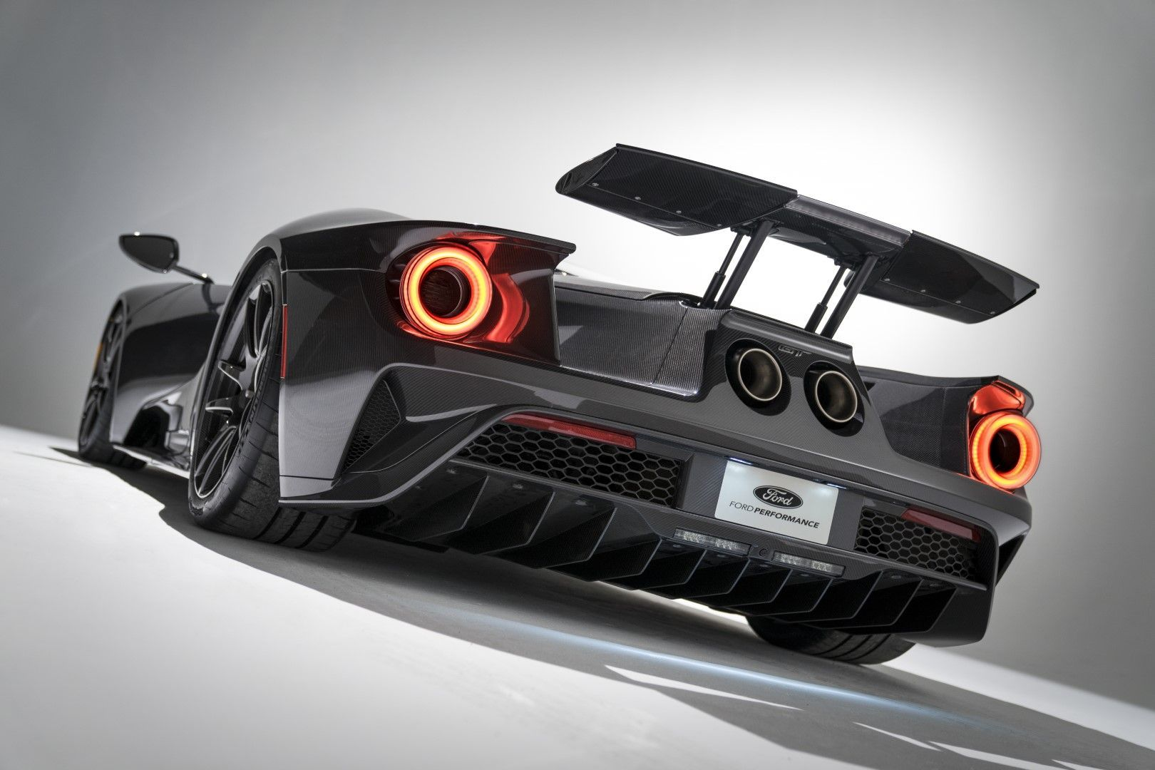 2020 Ford Gt Liquid Carbon An Optional Edition With The Complete