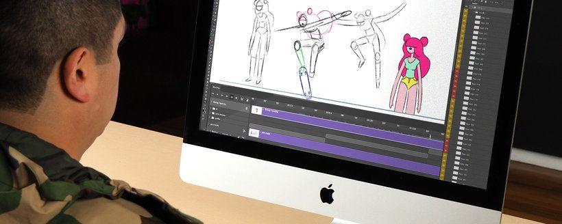 Introduccion A La Animacion Tradicional Con Photoshop Un Curso Online De 3d Y Animacion De Numecaniq Domestika Animacion Tradicional Animacion Animacion 2d