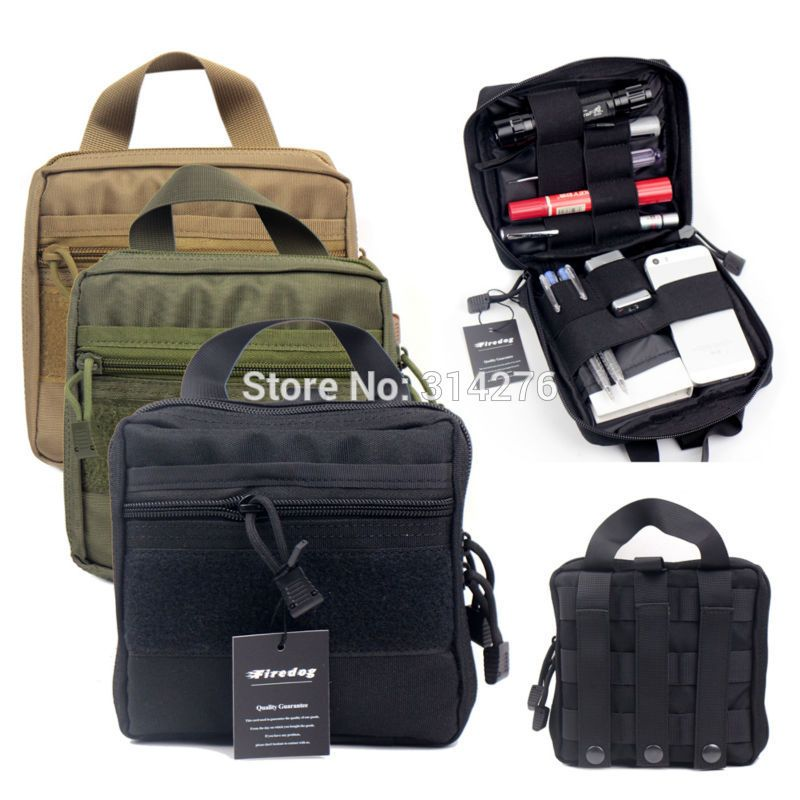 d50c06e30b32 Outdoor Survival Emergency EDC Tools Molle First Aid Medical Kit Pouch  Organizer Utility Gear Bag Pouch