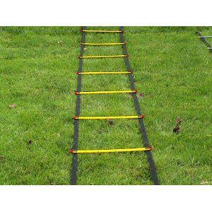 14 49 8 03 Shipping On Amazon Com Speed Agility Training Ladder 17 Feet Long Sports Equipment Soccer Footb Soccer Football Training Drills Soccer Drills