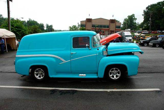 1953 - 1956 F-100 Pickup Trucks: 1956 Ford F-100 Panel Truck