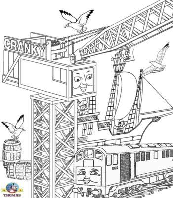 Thomas Colouring Pages Free Online Coloring Coloring Pages Coloring Pages For Kids