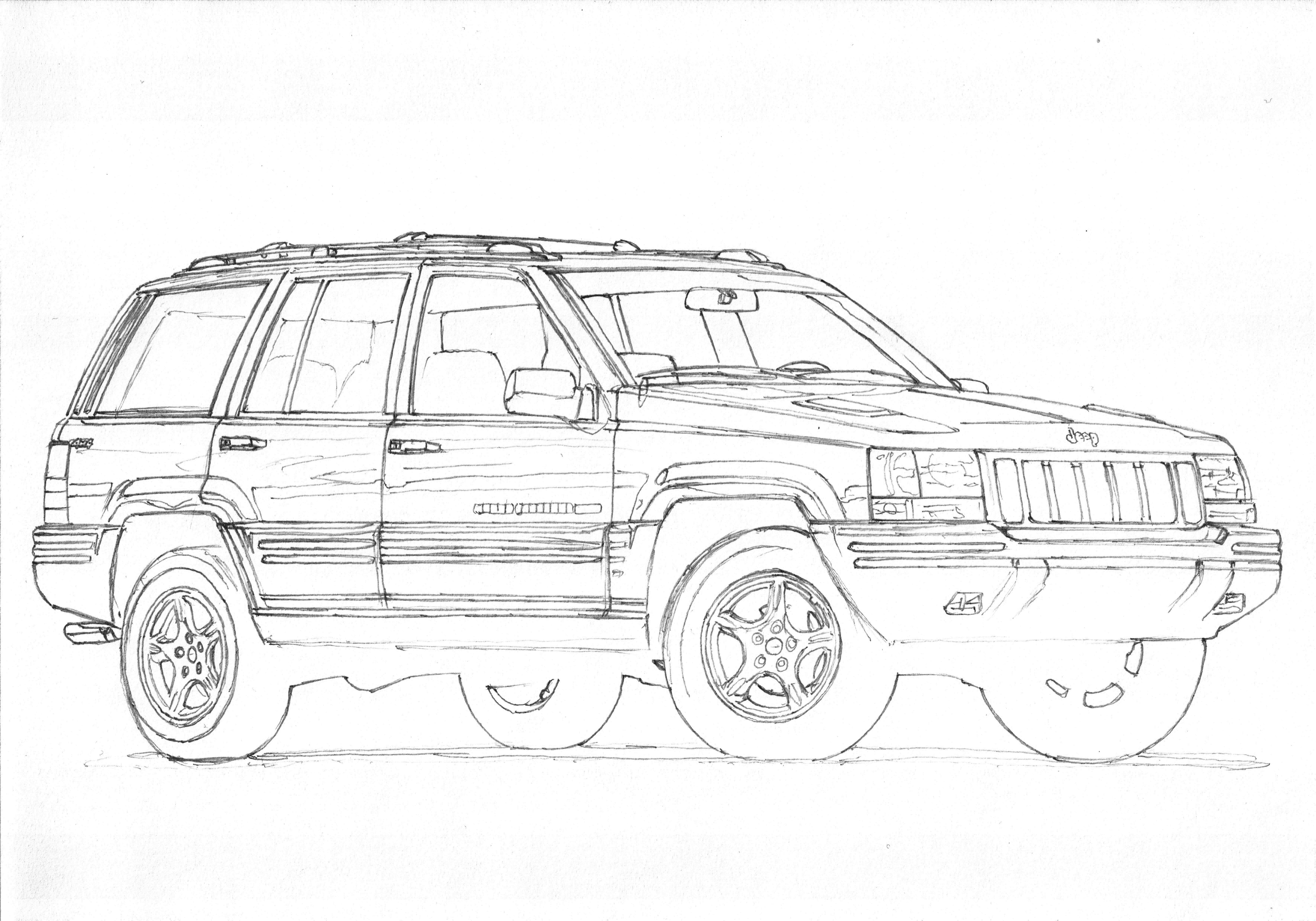 Jeep Grand Cherokee Zj Limited 1 3 Comeback To Usa Big V8