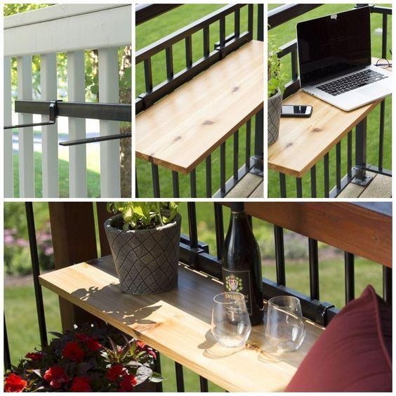 Come arredare un balcone stretto e lungo | Balconi, Design ...