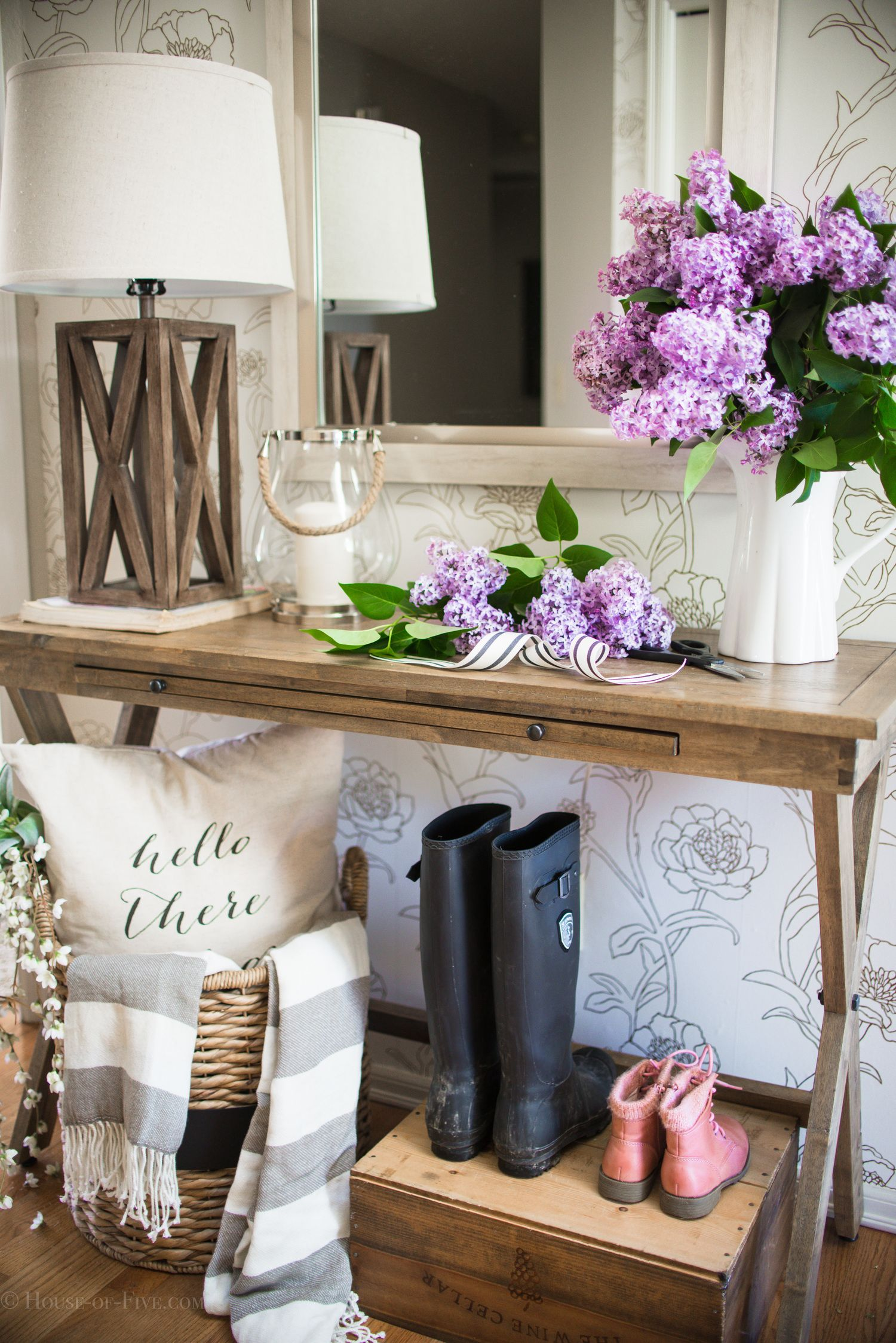 decor editorial table pin every entry with designed ideas worthy style entryway