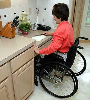 Making Your Kitchen Accessible. Instead Of Butleru0027s Sink, Add Low W/c  Accessible
