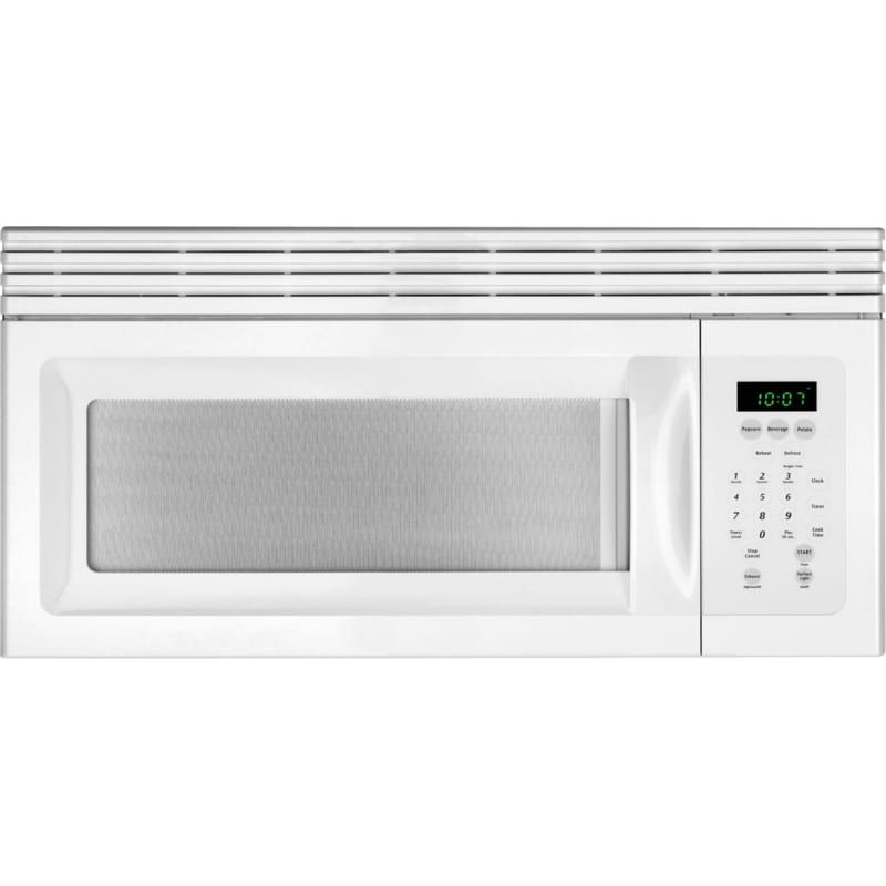 Frigidaire Mwv150k 1 5 Cubic Foot Over The Range Microwave With