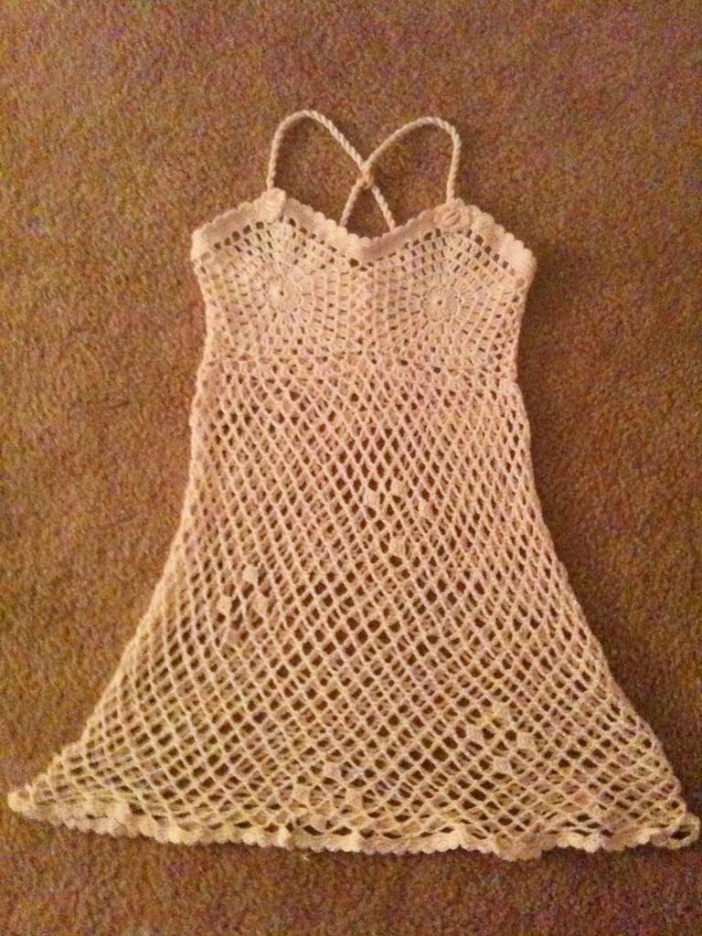 Crochet girls dress or beach cover up by beijobaby on etsy crochet girls dress or beach cover up by beijobaby on etsy bankloansurffo Images