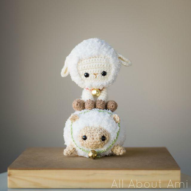 Wicked cute crochet sheep, #freepattern Ravelry: Chinese New Year ...