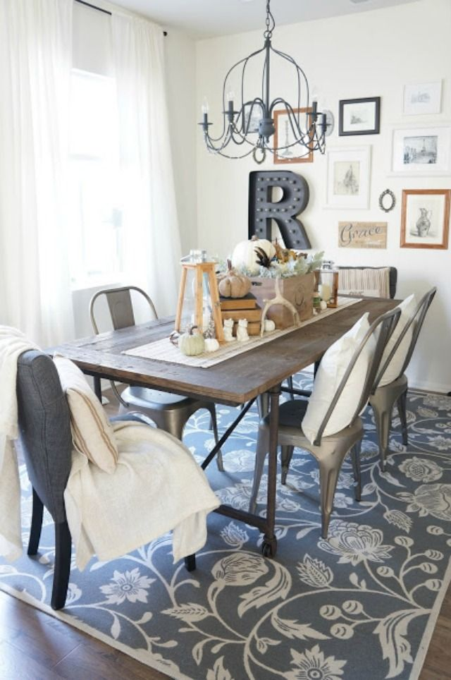 Eclectic Home Tour - Perfecting the Homefront Gallery wall, Room - Beautiful Dining Rooms