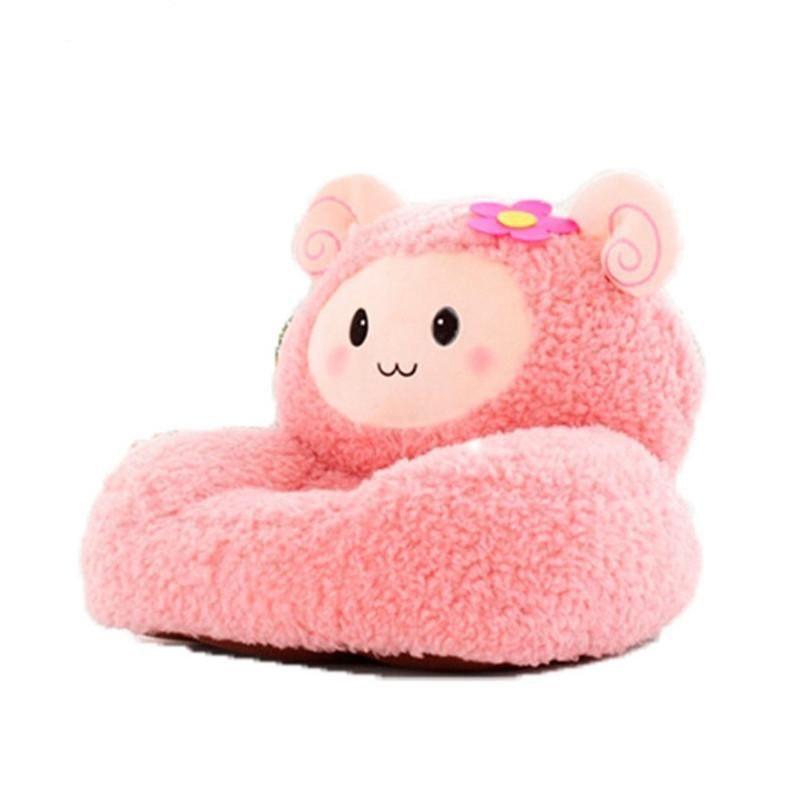 Cute lamb sleeping bean bag baby sofa baby chair plush