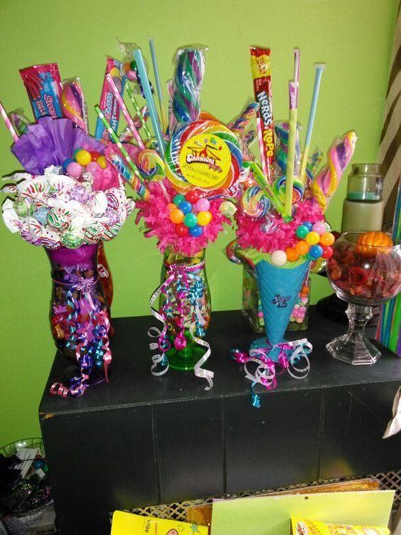 Recordatorios De Jarrones De Diferentes Disenos Para Fiesta De 15 - Decorados-para-fiestas