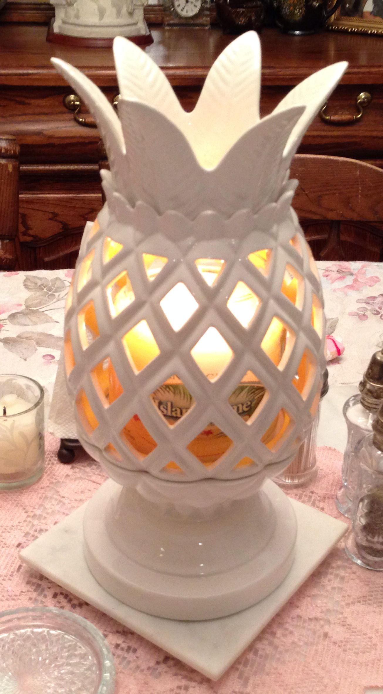 White Barn Candle Co Candle Holder From Bath Amp Body Works