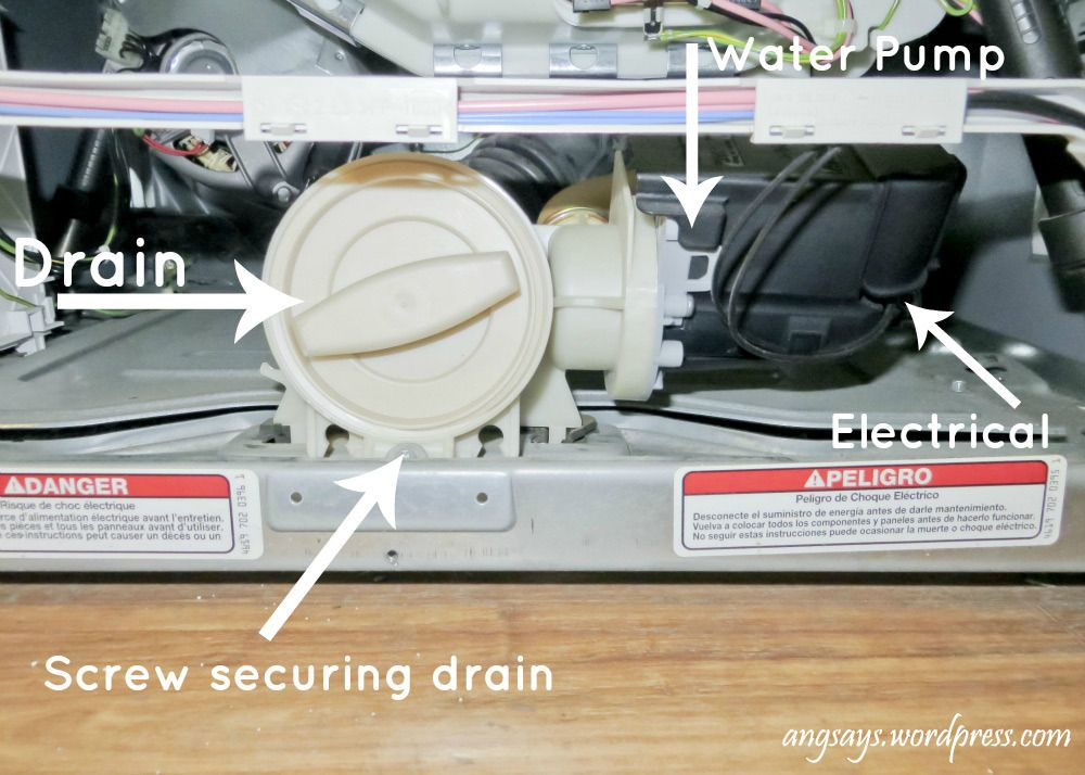 Fix the f21 code unclog the washer drain diy home
