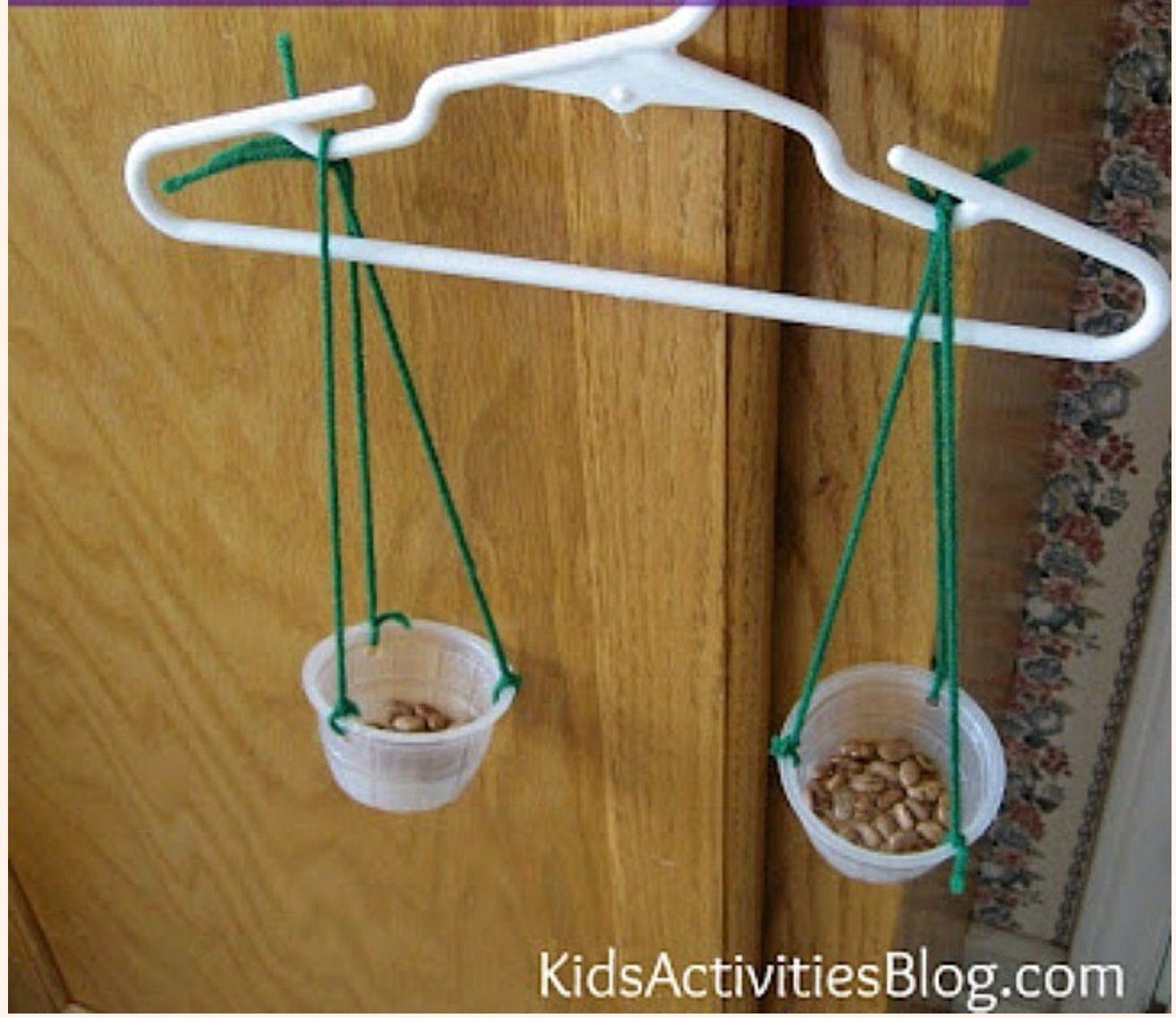Science For Kids Make A Balance