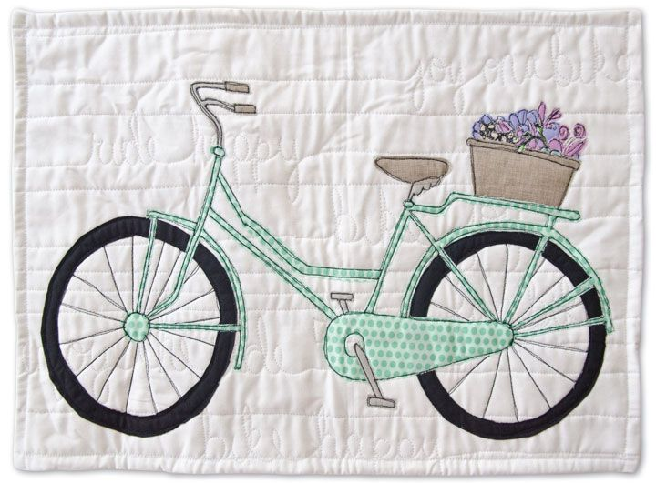 Since biking is such a happy part of my life, I started creating art ...