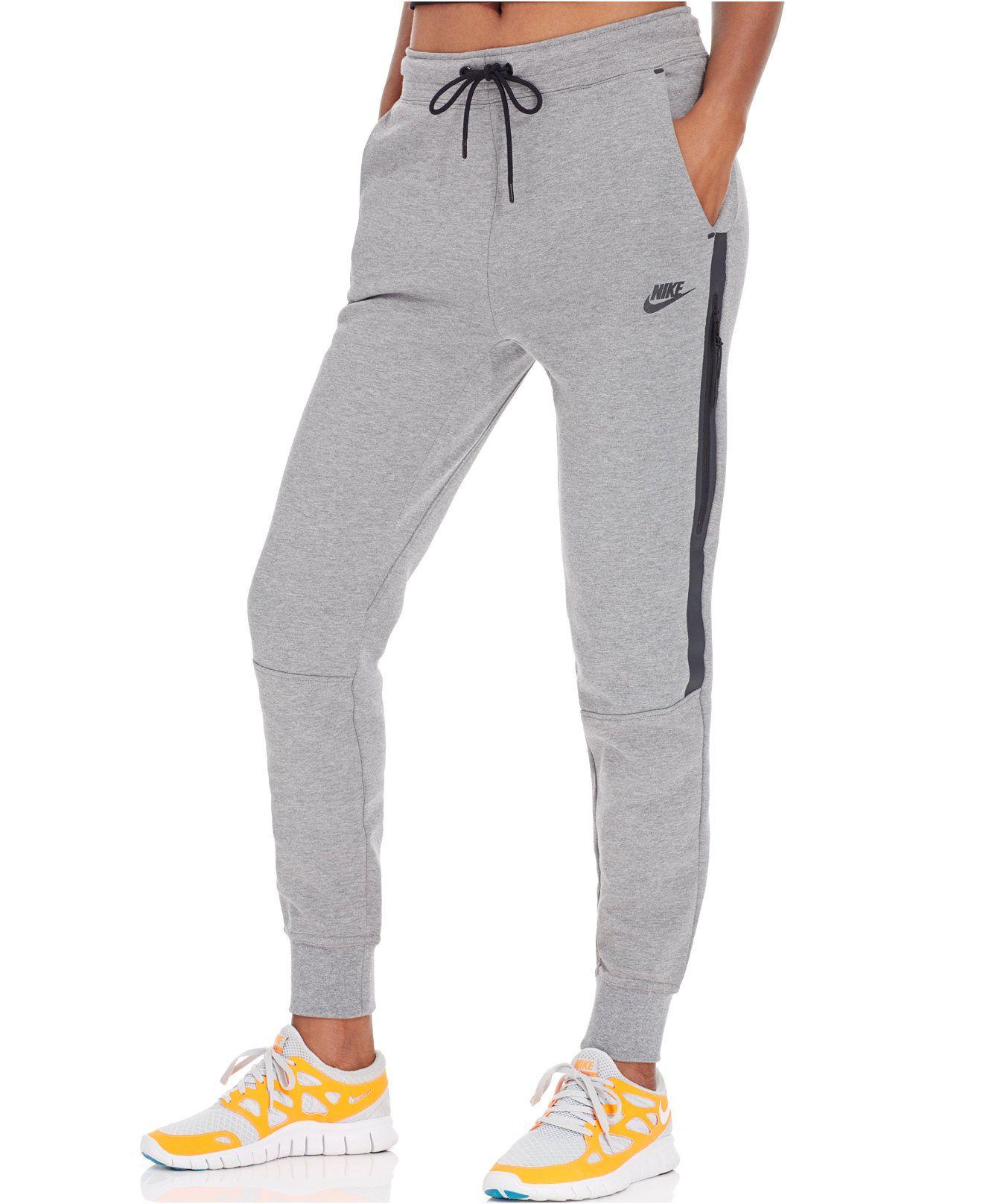 fe9213c93fe9 Nike Tech Fleece Sweatpants - Pants   Capris - Women - Macy s ...