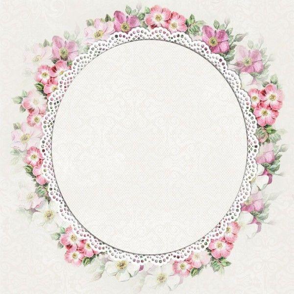 Pin By Ige5h Salidu On P Vintage Paper Flower Frame Crafts