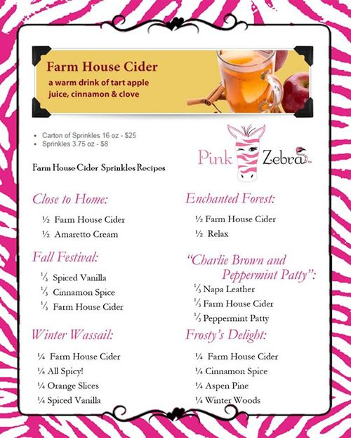 Farm House Cider Sprinkles Recipes
