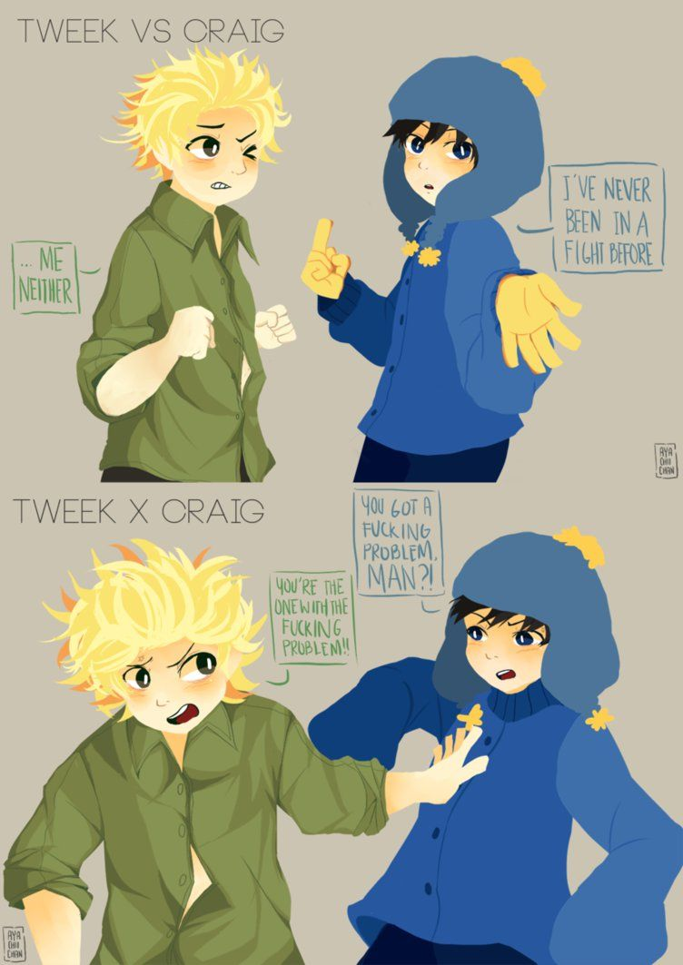 Tweek and Craig S3 and S19 || 061016 by Ayachiichan