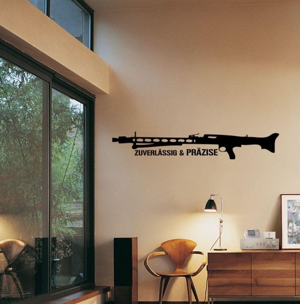 Wandtattoo   MG42 Zuverlässig Und Präzise | Militaria | Wehrmacht | Sammeln  | In Möbel U0026 Wohnen, Dekoration, Wandtattoos U0026 Wandbilder | EBay!