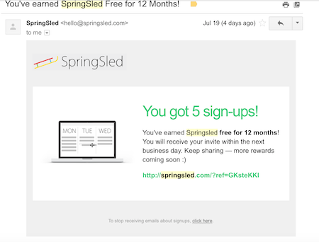The 3 hacks that got SpringSled 138,790 users in less than 40 days