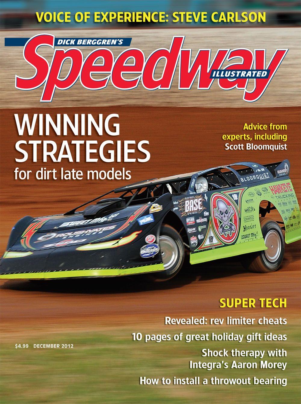 Dec  2012: Scott Bloomquist   Covers   Dirt racing, Ford