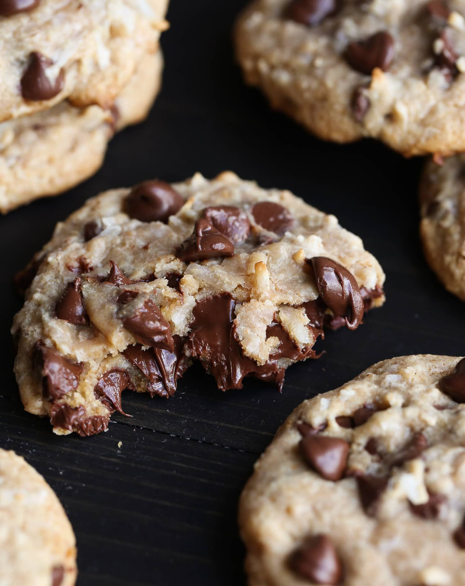 Treasure Cookies These Are An Elevated Chocolate Chip Cookie Sweetened With Sweetened Condensed Mil Cookies Recipes Chocolate Chip Yummy Cookies Chip Cookies