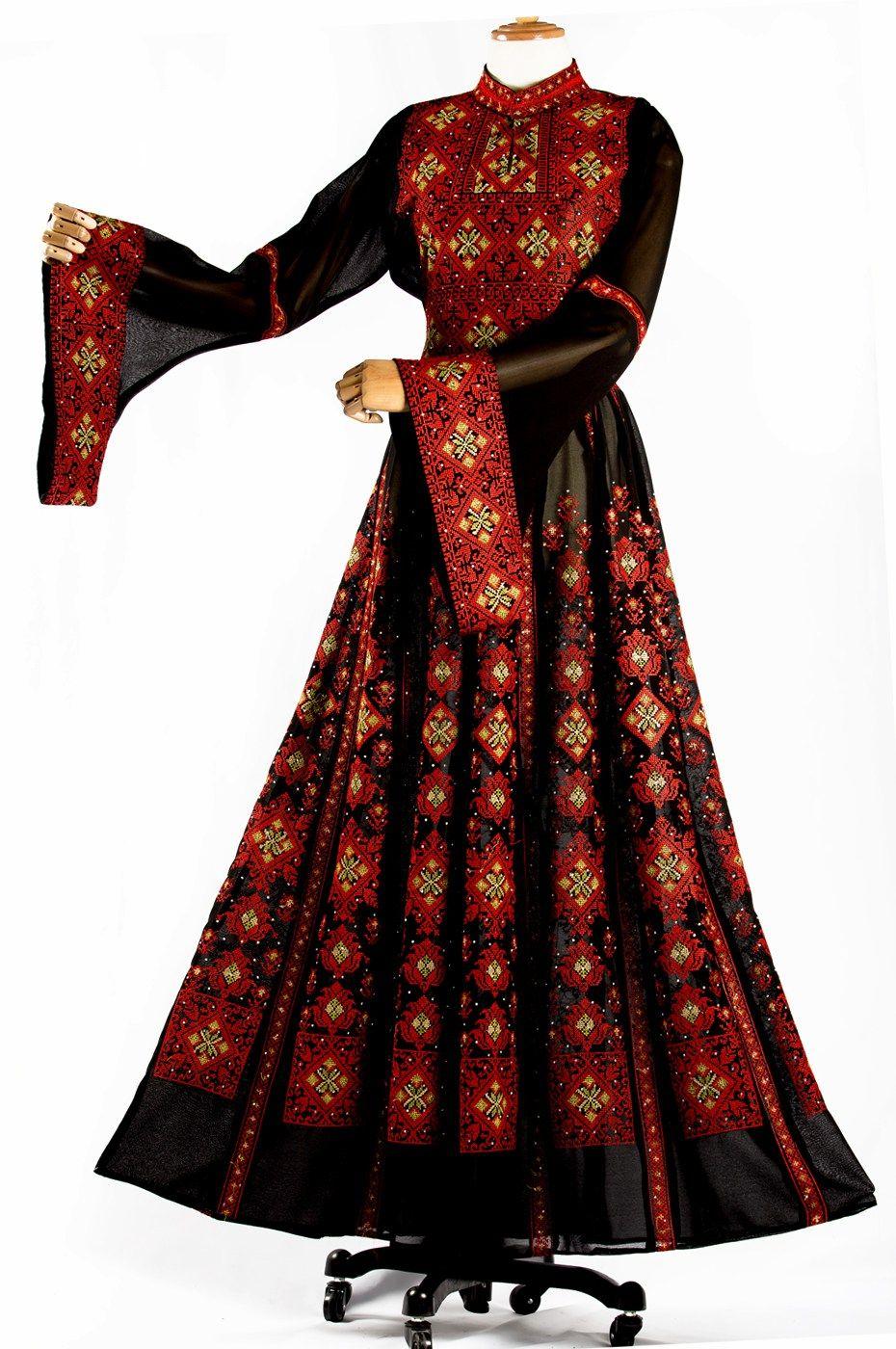 جلابية شرحات دبل كلوش نترات السندس Long Sleeve Dress Fashion Dresses