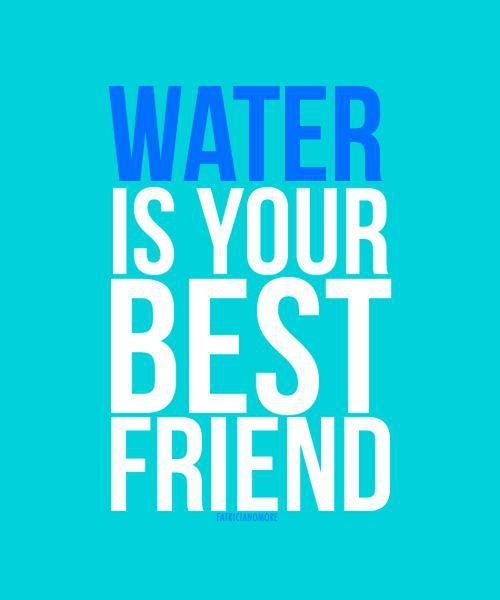 Need to drink A LOT of water Best if it is room temp Drink it