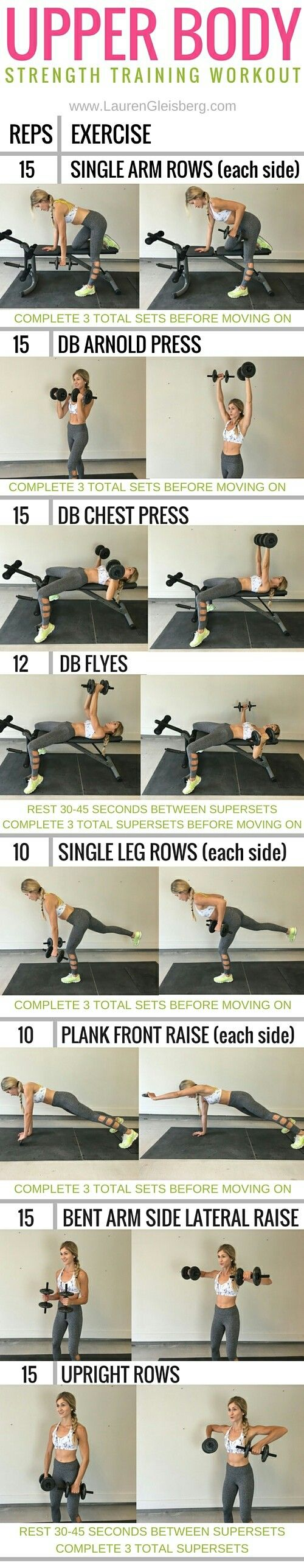 Upper Body Workout - click for more