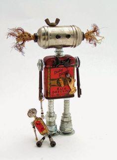 ECOMANIA BLOG: Robots Reciclados. Parte 1