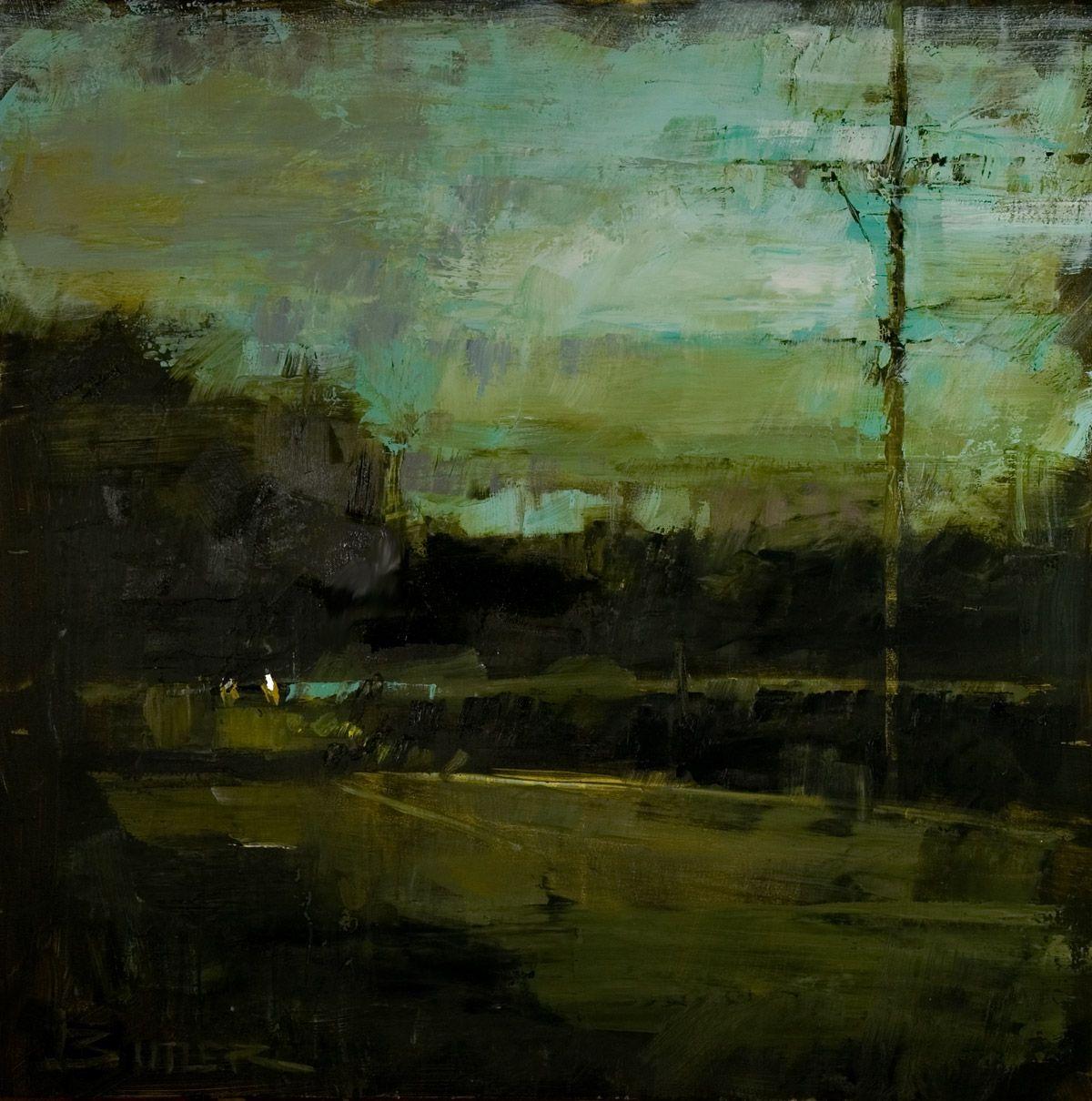 Headlights in a Storm | Fine Artists | Curt Butler | Pinterest