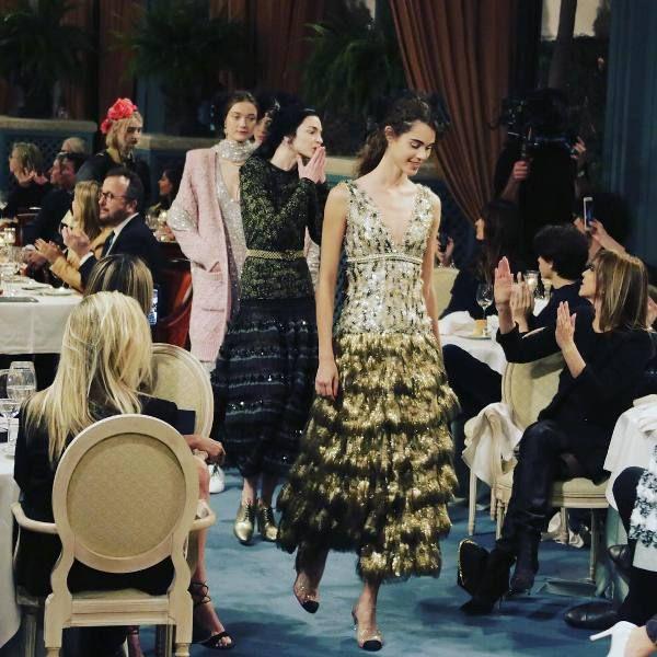 Desfile Metiers D'Art da Chanel
