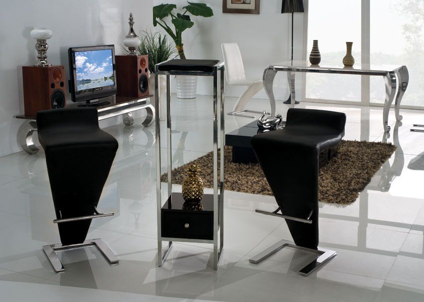 Modern design stainless steel legs bar stool bar chair bar furniture public commercial furniture y05 120 00